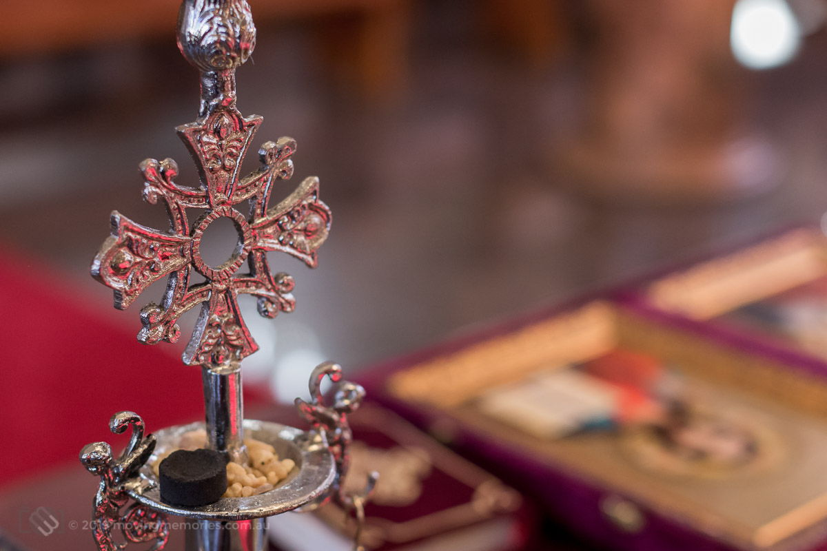 decorative-crucifix-before-the-ceremony-for-Baby-Girl-Andrjea-Christening-at-Macedonian-Orthodox-Church-Wollongong-Panorama-House